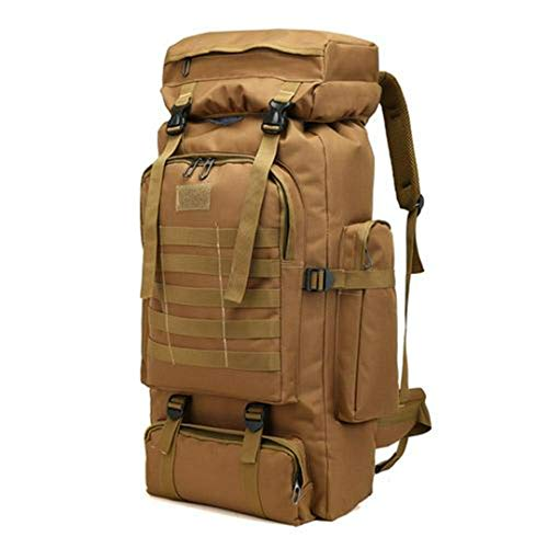 RatenKont 80L Oxford Fabric Camping Backpack Travel Hiking Rucksack Luggage Bag 2 Other