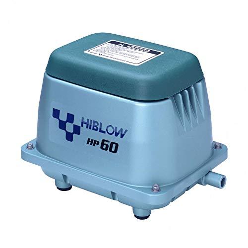 HiBlow Luftpumpe HP-60 60l/min bei 1,3m, Ausgang 18mm, 51 Watt