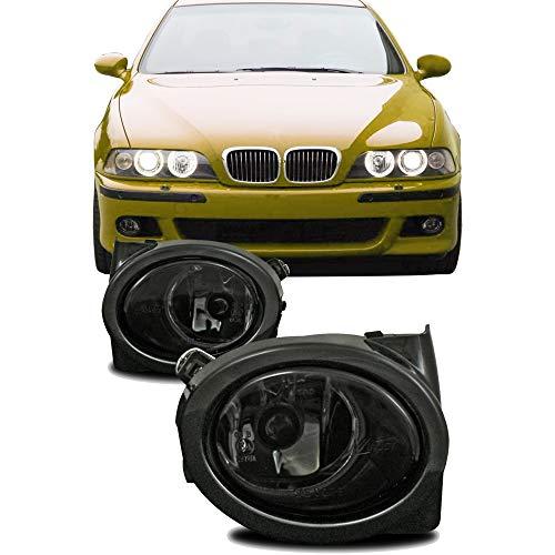 JOM Car Parts & Car Hifi GmbH 82875 Nebelscheinwerfer Smokeglas mit Rahmen