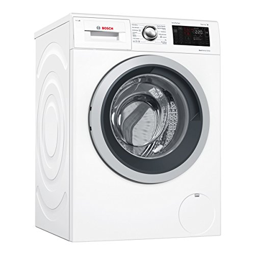 Bosch Serie 6 WAT28669ES Independiente Carga frontal 9kg 1400RPM A+++-30% Blanco - Lavadora (Independiente, Carga frontal, Blanco, Izquierda, LED, Acero inoxidable)