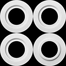 White Metal Lamp Shade Reducer Ring for ES/E27 to BC/B22 Plate Light Fitting Lampshade Washer Adaptor Converter (4)
