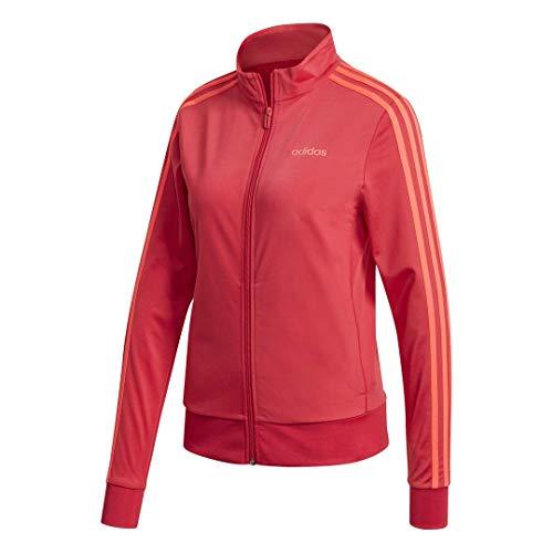 adidas Female Essentials Tricot Track Top, Power Pink,XL