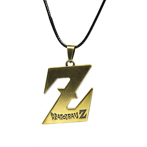 CoolChange Collar de Dragonb Z con Colgante en Forma de Z