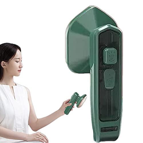 SHUIZHUYU Micro Plancha de Vapor Profesional, No Se Necesita Tabla de Planchar, Vaporizador de Ropa Vertical y Horizontal, para El Hogar y Los Viajes