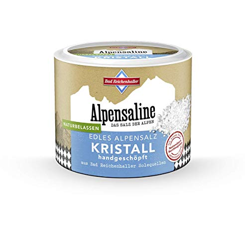 Bad Reichenhaller Alpensaline Edles Alpensalz Kristall, 100 g