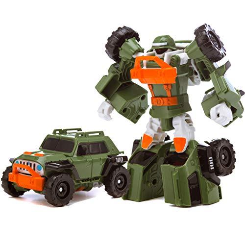 Siyushop Transformer Robot Voiture, Jouets for Enfants Deformation, Robots Deformation, Garçon Et Une Fille De Voiture Jouets, 2-8 Ans Enfants ( Color : 3 )