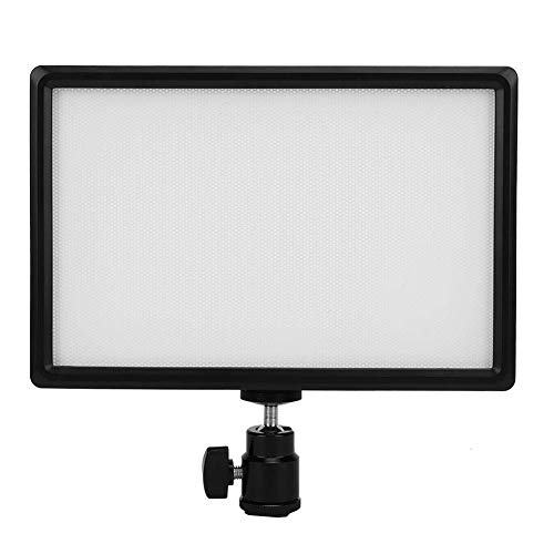 Luz de Video LED, cámara de luz de Relleno de Panel Plano Digital LED Mini luz de Video de fotografía portátil para fotografiar