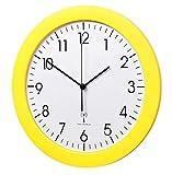 TFA Dostmann 60.3512 Orologio Da Parete Radiocontrollato Con Movimento Silenzioso 300 mm (giallo)