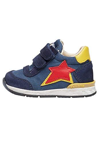 Falcotto New FERDI VL-Sneaker aus Veloursleder und Funktionsgewebe-Navy blau 18