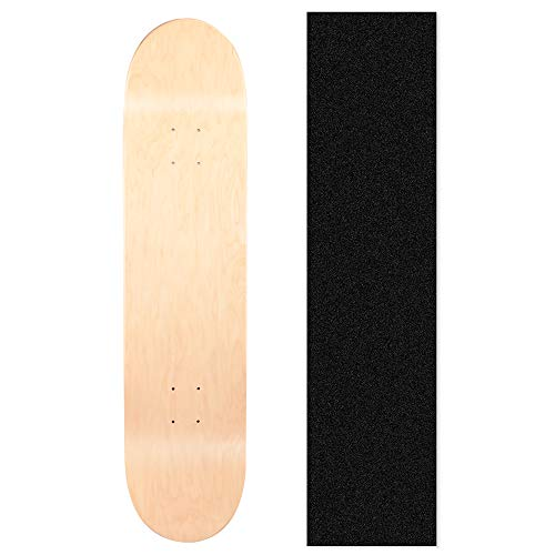 LOSENKA Maple Skateboard Decks Double Tail Skateboard Light Decks Free Skateboard Grip Tape 1 PCS