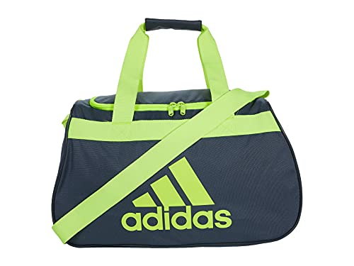 adidas Defender II Small Duffel Lead/Electricity One Size