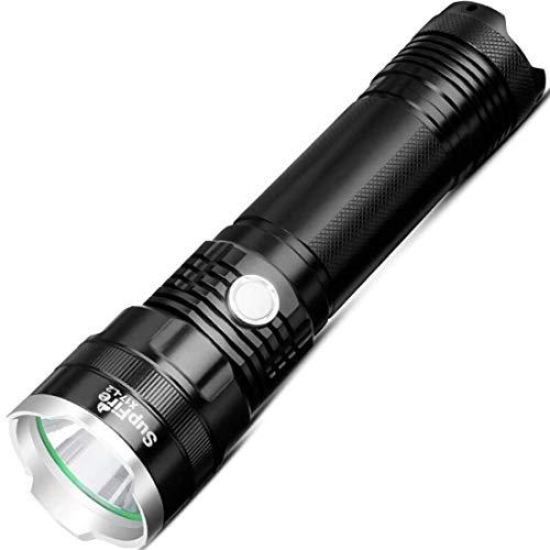 Nuokix LED 10W X17 1100 LM CREE XML2 longue portée USB forte Mini lampe de poche avec une forte/Moyen/Faible/stroboscopique/SOS Modes d'urgence, escalade, équitation, auto protecteur lampe LED