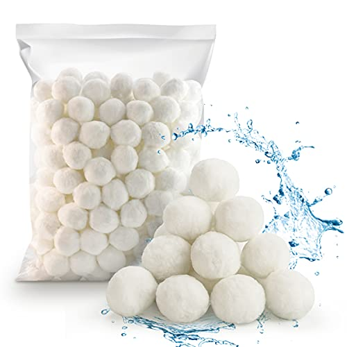 Kaycolin Filter Balls Sandfilter 700g Pool Filterbälle, Filterballs für Sandfilteranlagen, Anstelle von 26 kg Filtersand