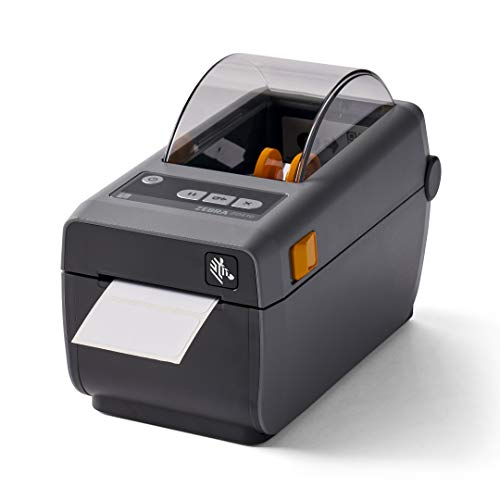Zebra ZD410 Direct Thermal Desktop Printer Print Width of 2 in USB Bluetooth and Wifi Connectivity ZD41022-D01W01EZ