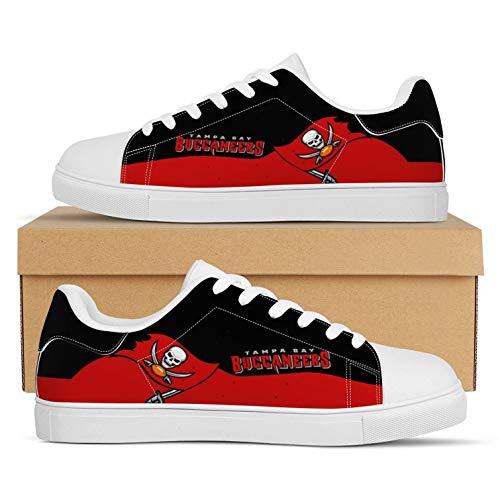 Jerseys Buccaneers Fans Zapatos Zapatillas American Football LeagueComo Fanáticos(Size:Men's shoes42,Color:G1)