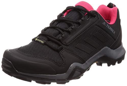 Adidas Terrex AX3 GTX W, Zapatillas de Deporte Mujer, Multicolor (Carbon/Negbás/Rosact 000), 45 1/3 EU