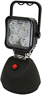 ECCO Work Light 12/24V LED 600 Lumens White Flood Magentic Base Comes with A/C & D/C Chargers