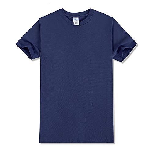 Rundhals Baumwolle Kurzarm T-Shirt Arbeitskleidung Kultur Shirt Mode Casual T-Shirt