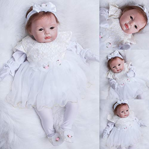 ZIYIUI Reborn Doll 22' /55cm That Looks Real So Baby Doll Realistic Vinyl...