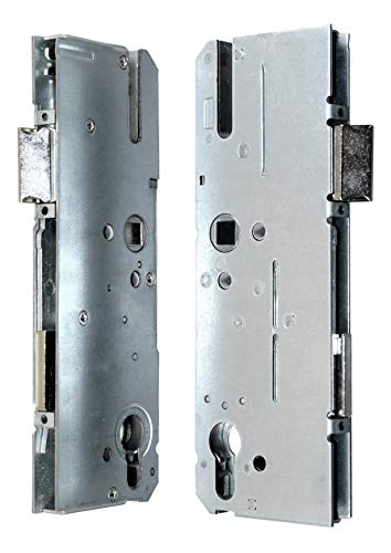 KFV Reparatur Schlosskasten Hauptschloss AS 8250 Dornmaß: 55mm (52mm) / Entfernung: 92mm, incl. SN-TEC® Montagematerial zum Schrauben und Nieten & SN-TEC® Montageanleitung