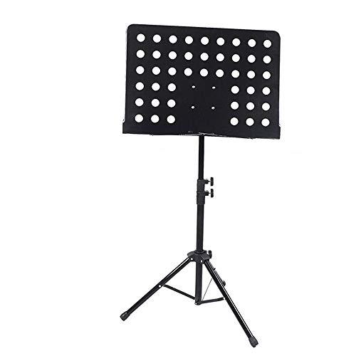 QinWenYan Atril Elevable Música Soporte Plegable portátil Soporte violín la música del...