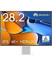 HUAWEI MateView 28.2インチ 4K+ ウルトラHD モニター 3年保証付き ワイヤレス IPS液晶(視野角178°) 非光沢 HDR400 タッチ式OSD ミスティックシルバー【日本正規代理店】