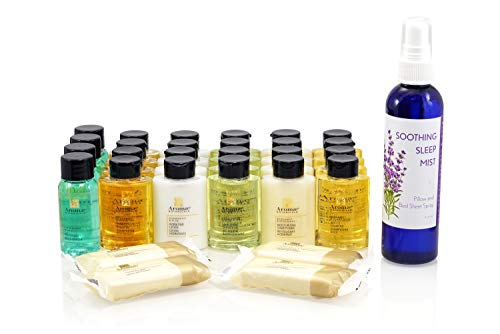Aromae Botanicals Travel Size Hotel Toiletry Bottles