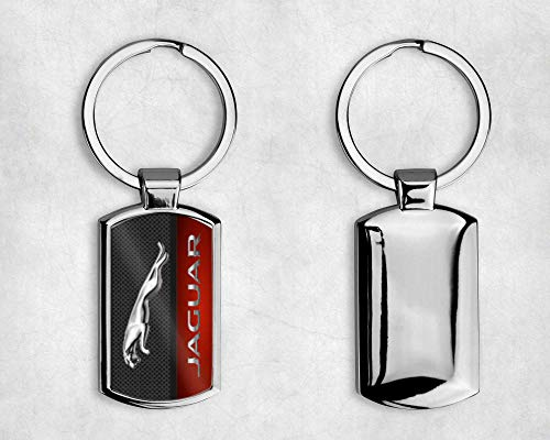 T20 DESIGNS JAGUAR CAR METAL KEYRING - Choice of Model - XF F PACE XJ- Complete with Gift Box (-A001)