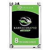 SEAGATE ST8000DM0004 BarraCuda Pro 8TB 7200 RPM 256MB Cache Hard Drive - 3.5' (Renewed)