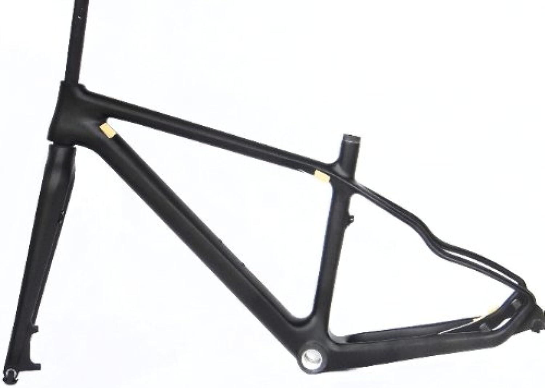 Full Carbon Matt Matte 26er Mountain Bike MTB 26  Wheel BSA Frame With Fork 21