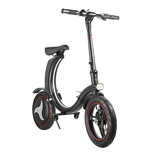 YYGG Bicicleta Electrica Plegable Urbana E-Bike 36V 350W Bici Electrica, Sistema de...