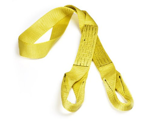 """PROGRIP 220400 Heavy Duty Tow and Vehicle Recovery Tree Saver Winch Strap with Loop Ends, 6' x 2"""""""