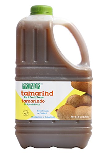 Primor Tamarind Puree | 64 Fl Oz | Create All-Natural Juices, Smoothies, Cocktails, Desserts, Dressings, And So Much More | Natural, Vegan, Non-GMO, Gluten-Free, Kosher