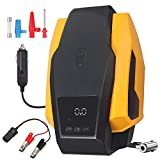 AUTOUTLET Air Compressor Tire Inflator, DC 12V Portable Air Compressor for Car Tires, Auto Tire Pump with LED...