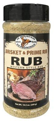 Hi Mountain Brisket & Prime Rib Rub 10.5 oz. Jar