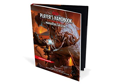 Asmodee Dungeons & Dragons - 5a Edizione - Manuale del Giocatore 4000