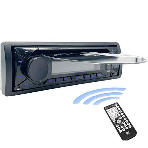 Hengweili Autoradio CD DVD Bluetooth Lettore Stereo Auto 1 Din 12v MP3 USB SD AUX FM