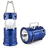 LDG WARE LED Solar Emergency Light Lantern USB Mobile Charger 2 Power Source Lantern Light is...