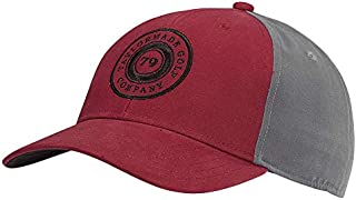 TaylorMade Lifestyle Low Crown Snapback Hat,  Red/Grey