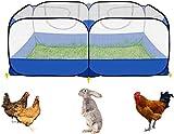 Jaulas para Animales pequeños, Parque para Cachorros o Mascotas, Plegable, para Perros, Conejos, cobayas, Gatos, para Interior o Exterior
