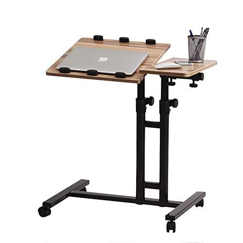 LWW Mesa, Mesas de la tabla del ordenador, portátil móvil del banco de trabajo, de noche elevación de la tabla, escritorio gira 360 grados