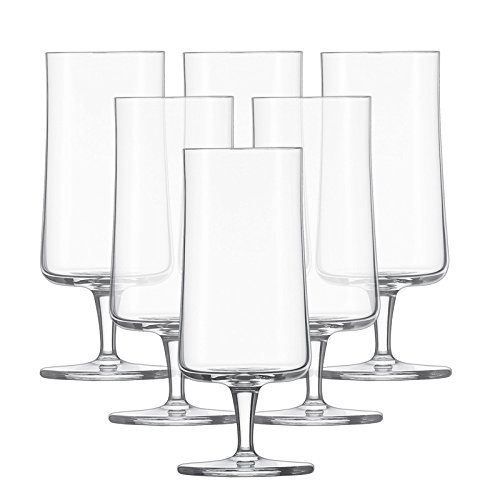 Schott Zwiesel Beer Basic Pils, Tritan Kristalglas, Transparente, 7.6 cm, 6