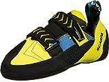 Scarpa Vapor V, Zapatillas de Escalada Hombre, Ocean-Yellow FR, 43 EU