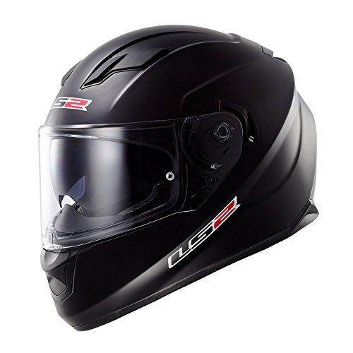 LS2 Helm, Matt Schwarz, XL