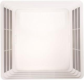 Broan-NuTone HD80L Heavy Duty Ventilation Fan Combo for Bathroom and Home, 100-Watt Incandescent Light, 80 CFM, White