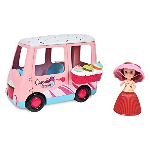 Cupcake Surprise Mini Sweet Dreams Van Playset with Bonus Cupcake Mini Doll