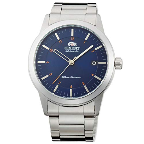 Orient Unisex Erwachsene Analog Automatik Uhr mit Edelstahl Armband FAC05002D0