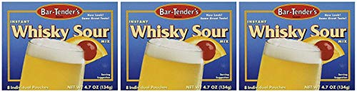 Bar-Tenders Instant Whiskey Sour Cocktail Mix, Net Wt. 4.7 oz. (8 pouches) (3)