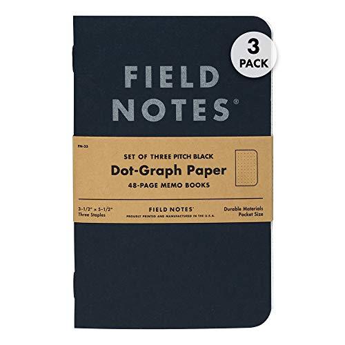 Field Notes Black Notebooks