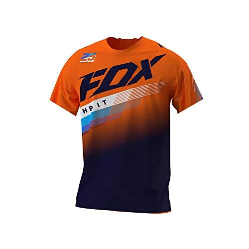 2021 Men's Downhill Jerseys Hpit Fox Mountain Bike MTB Shirts Offroad Dh Motorcycle Jersey Motocross Sportwear Clothing Fxr Bike-S